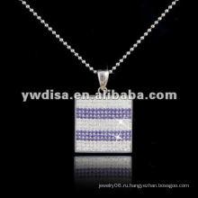 Западный стиль горячей продажи площади ожерелье, красивые ожерелье и разные цвета для вашего выбора