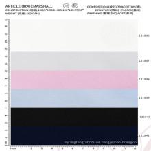 tela de nylon de la camisa de la tela de la mezcla de Spandex del algodón para la ropa de los hombres