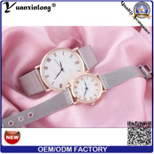 Yxl-638 Stainless Steel Mesh Band Watch Quartz Couple Watch Japanese Movement Watch
