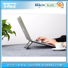 Soporte plegable del soporte para la PC de la tableta, soporte material de la aleación de aluminio pc para macbook