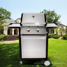 Hot Selling 2 Burner Outdoor Stainless BBQ Gas Grill