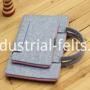 felt bag with pet material