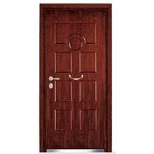 Luxurious Turkey Style Armored Steel Wooden Door