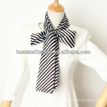 Office Lady Long Ombre Silk Necktie