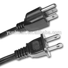 Cable de alimentación de Estados Unidos por cable nos aprobado
