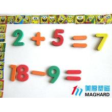 Jeu d'enfants magnétique éducatif eva foam soft puzzles
