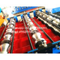 color roof  double deck roll forming machine