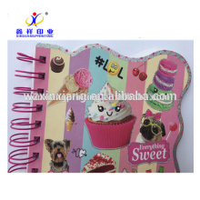 New Design Cute Shaped Spiral Notebook Wholesale