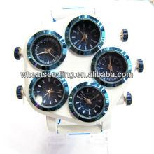 Relógio da jóia da forma 2013 com a cara do relógio cinco para homens JW-20