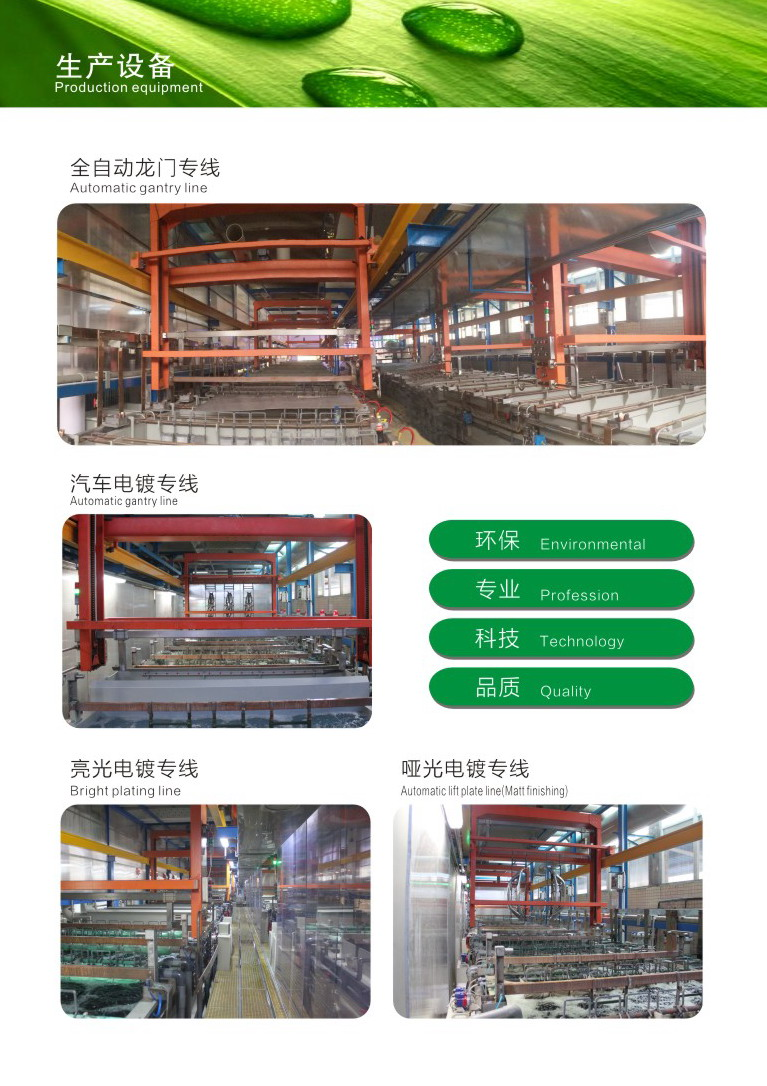 plating automatic gantry line