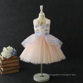 High Quality Garment Factory Modern Exquisite Workmanship Baby Girls Unicorn Dress