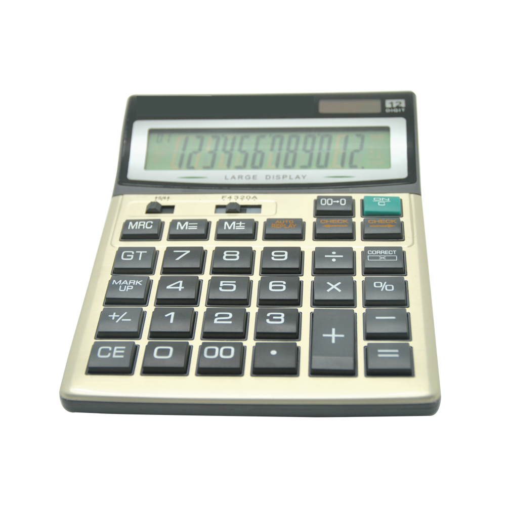 Office Check and Correct Desktop Calculator with Tax