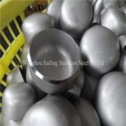 Tampão da encaixes de tubulação de aço inoxidável de B16.9 ASME/ANSI 304 316