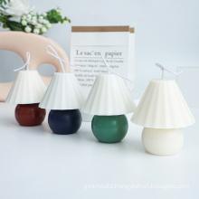 Wholesale High Quality Creative DIY Table Lamp Shape Mould Handmade Unique Plastic Candle Mould
