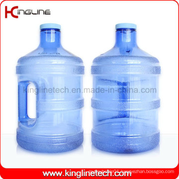 3.8L Plastic Water Jug Wholesale BPA Free with Handle (KL-8006)