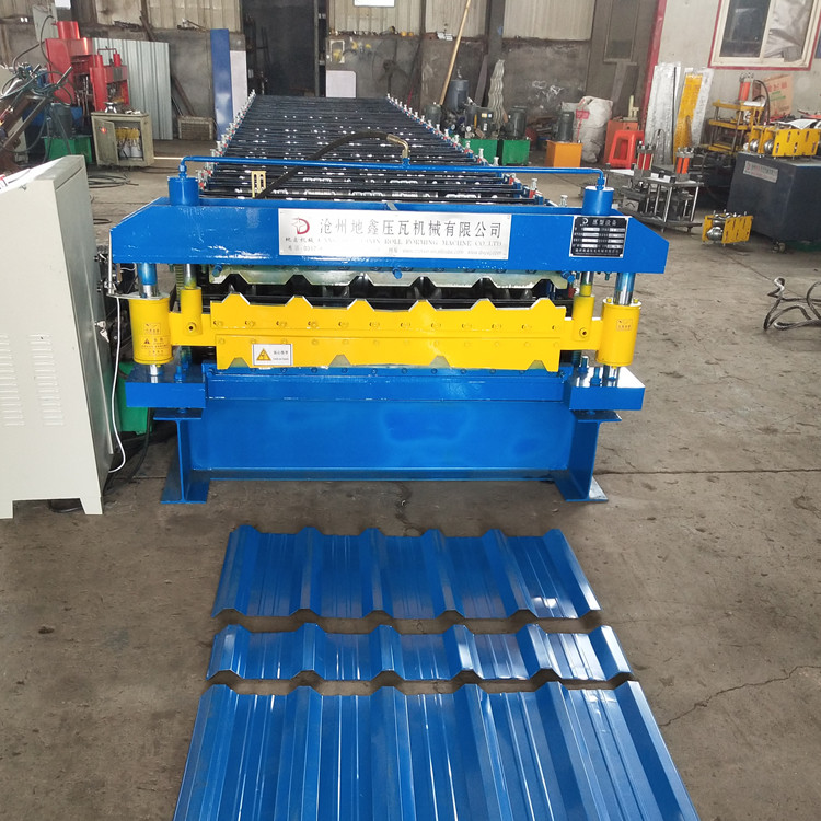 Rolling Machine For Roof And Wall