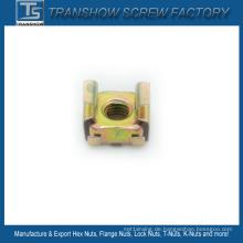 M6 65mn Stahl Gelb Galvanisierte Käfigmutter