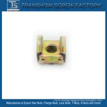 M6 65mn Steel Yellow Galvanized Cage Nut