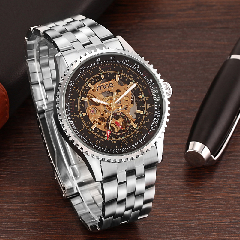 Trend Water Resistant Automatic Mechanical Watch