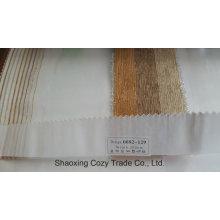 Nuevo popular proyecto de rayas organza Voile Sheer cortina 0082129