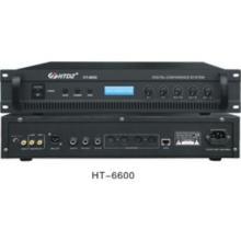 Built-in monitor loudspeaker Digital Conference System HT-6600