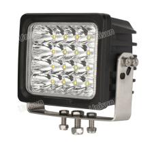 """12V-24V 6 """"100W CREE LED lámpara de trabajo de la máquina"""