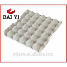 pulpe de papier de qualité supérieure 30 plateaux d'oeufs de poulet avec grand prix