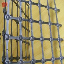 Geomalla plástica biaxial de los PP usada en mina de carbón