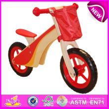 2014 bunte Holz Fahrrad Spielzeug für Kinder, schöne Holzspielzeug Fahrrad Spielzeug für Kinder, hölzerne Balance Fahrrad Spielzeug für Baby Factory W16c086