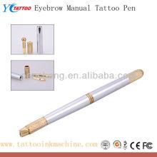 Pengcheng 3D cejas manual de la pluma del tatuaje