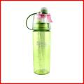 Bouteille d'eau potable de Mutil-Color de jet de brume sans plastique de BPA avec la paille