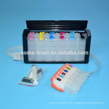 Sistema Ciss para tinta epson XP800 XP600 XP610 XP810 con cartucho y chip de restablecimiento automático para epson