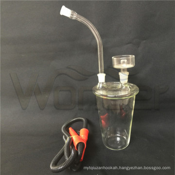 Cheap Hookahs with Case and LED Like Cup Shape