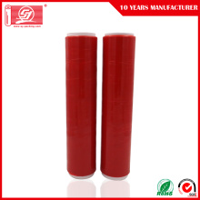 Rode kleur LLDPE Handy Wrap Stretch Film