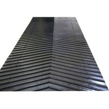 China Supplier Heat Resistant Chevron Pattern Conveyor Belt