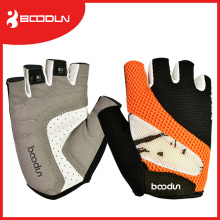 Custom Breathable Mesh Half Finger Bike Gloves for Weight Lifting