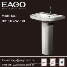 Lavabo de pedestal de baño de cerámica EAGO con certificado SASO