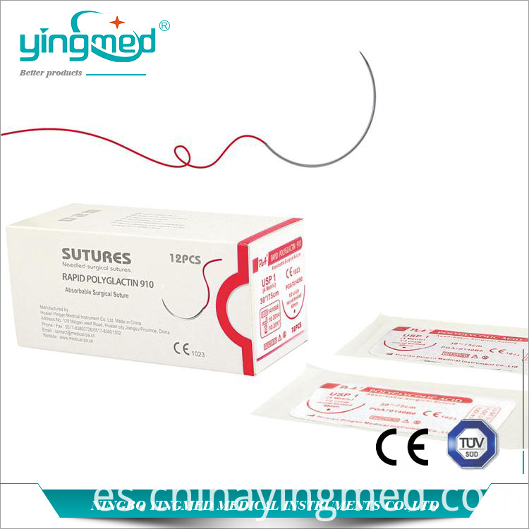 Rapid Polyglactin 910 Surgical Suture