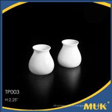 Produits uniques 2015 de la vaisselle en porcelaine blanche en porcelaine