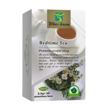 Insomnia tea to improve sleep and calm For Stress and Anxiety Relief Herbal Sleep Aid Remedy To Relax Bedtime Tea