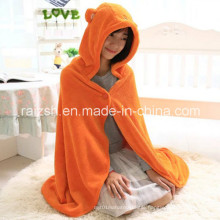100% Coral Fleece Cloak Sopersoft and Warm Blanket for Home