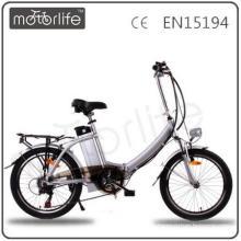 "MOTORLIFE / OEM EN15194 konkurrenzfähiger preis 36 v 250 watt 20 ""faltbare e-bike, batterie elektrische fahrrad"