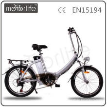 "MOTORLIFE/OEM EN15194 competitive price 36v 250w 20"" foldable e-bike,battery electric bicycle"
