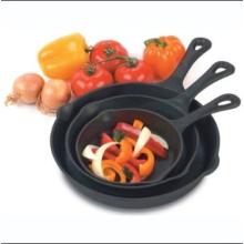 Venta al por mayor Pre-sazonado hierro fundido Skillet Cookware Set