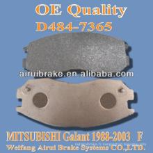 Plaquettes de frein D484 MITSUBISHI de Galant 1988-2003