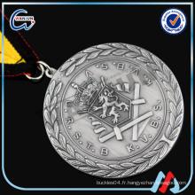 Moteur moulé à la main SILVER PLATED st george medal