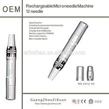 Digital Skin rejuvenation Derma Microneedling therapy pen