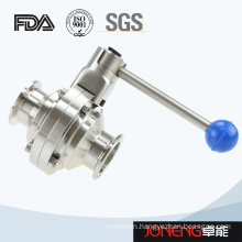 Stainless Steel Food Grade Manual Butterfly Type Ball Valve (JN-BLV2009)