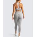 Roupas esportivas e conjuntos de leggings para ioga