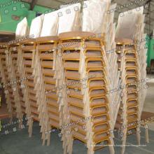 Штабелировать Алюминиевый стулья в линию (МК-ZL22-09)